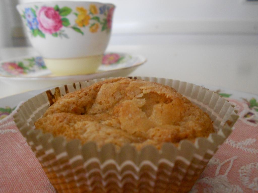 Cupcakes alla banana con Stevia