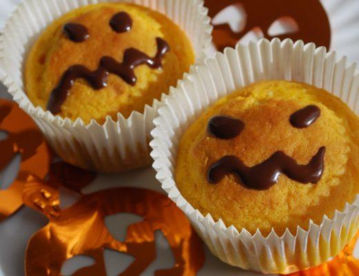 Muffin di Halloween alla zucca