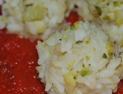 Polpette di riso e broccoli