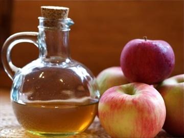 Bevanda disintossicante a base di aceto di mele