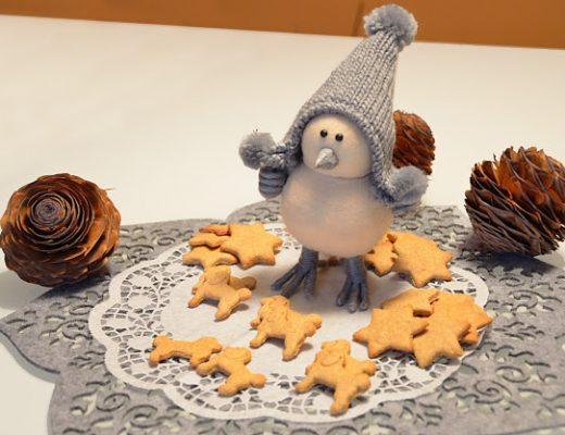 Biscotti di farro al sapor di zenzero