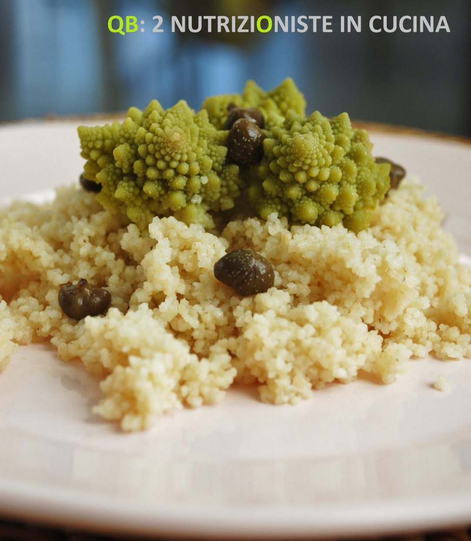 Cous cous con broccoli