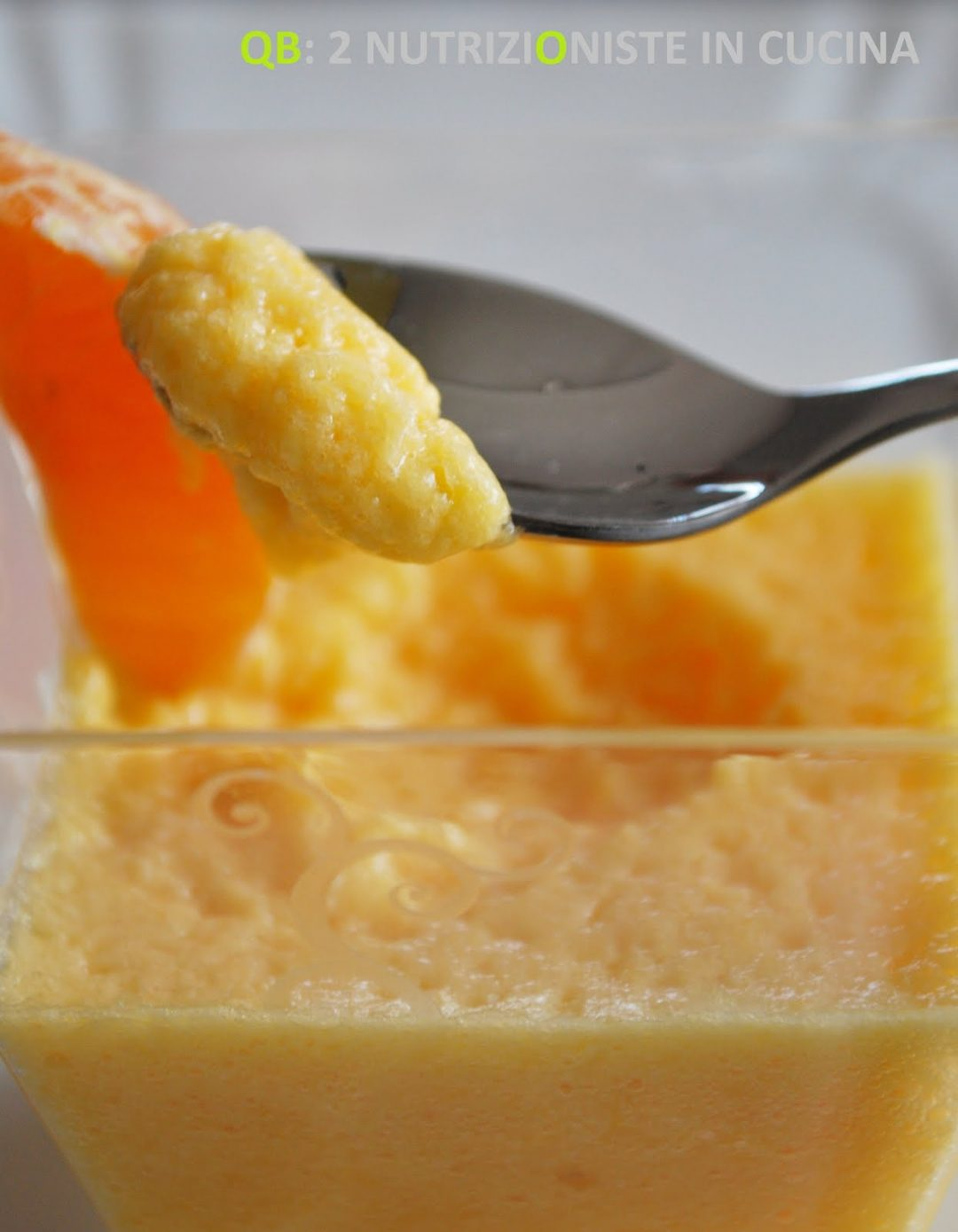 Mousse di clementine