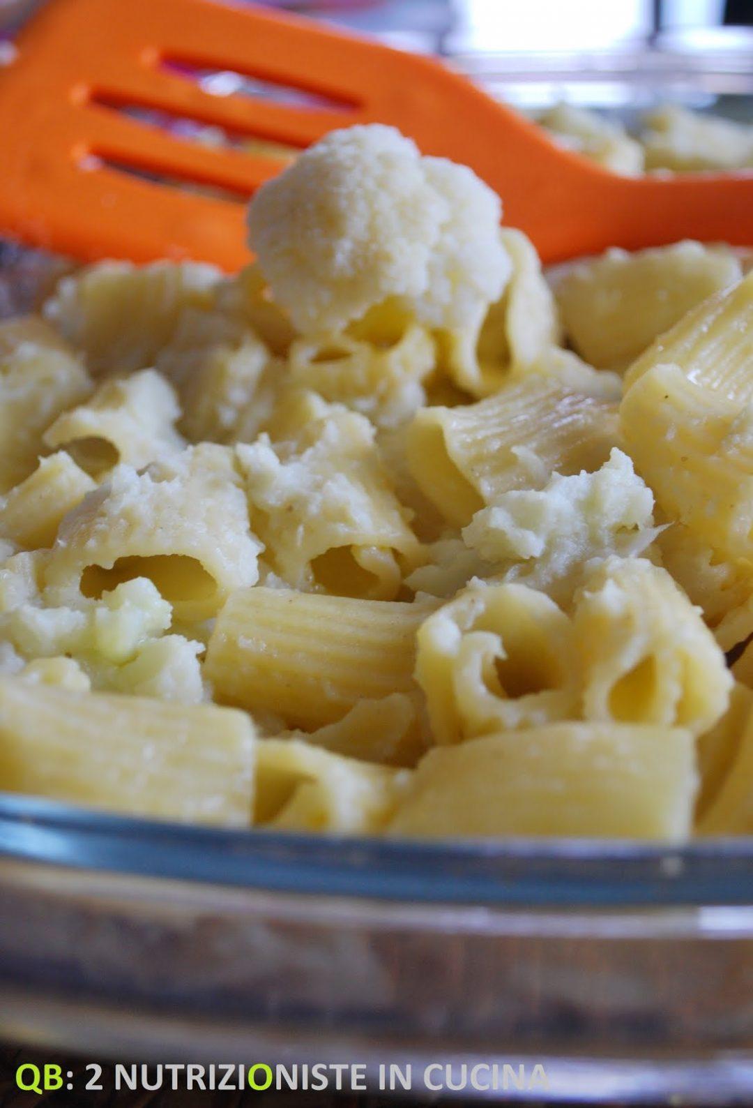 Pasta pasticciata con crema di cavolfiore