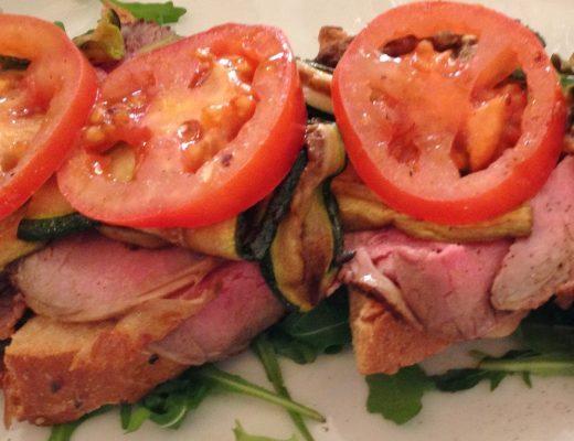 Storia di un brunch e della scoperta degli open sandwich