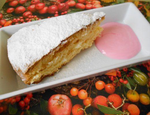 Torta paradiso...light
