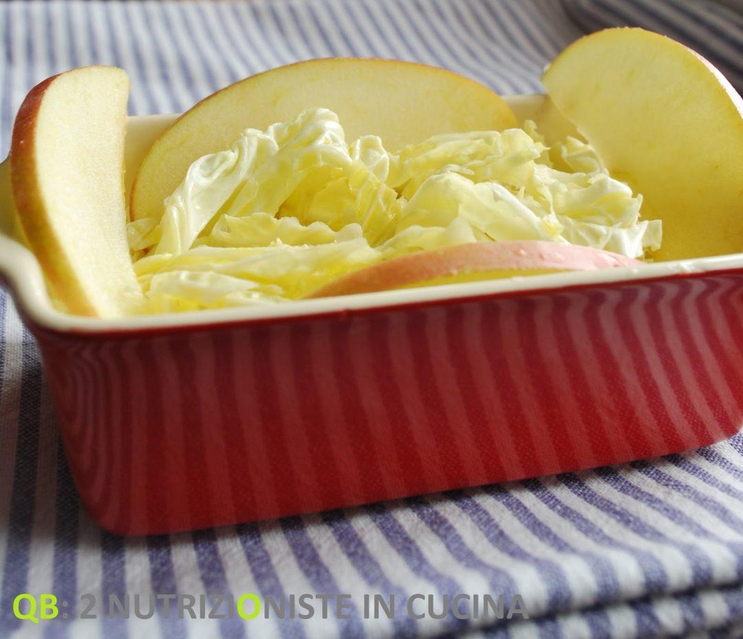 insalata di verza e mele