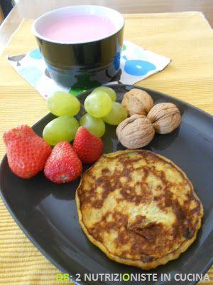 Pancakes alla banana con solo 2 ingredienti