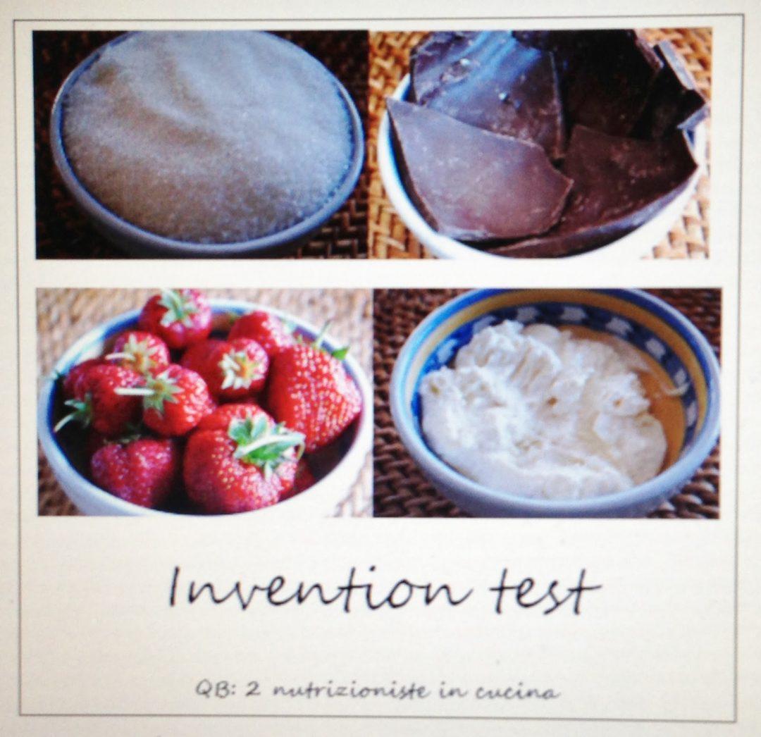 Ricordatevi l'invention test