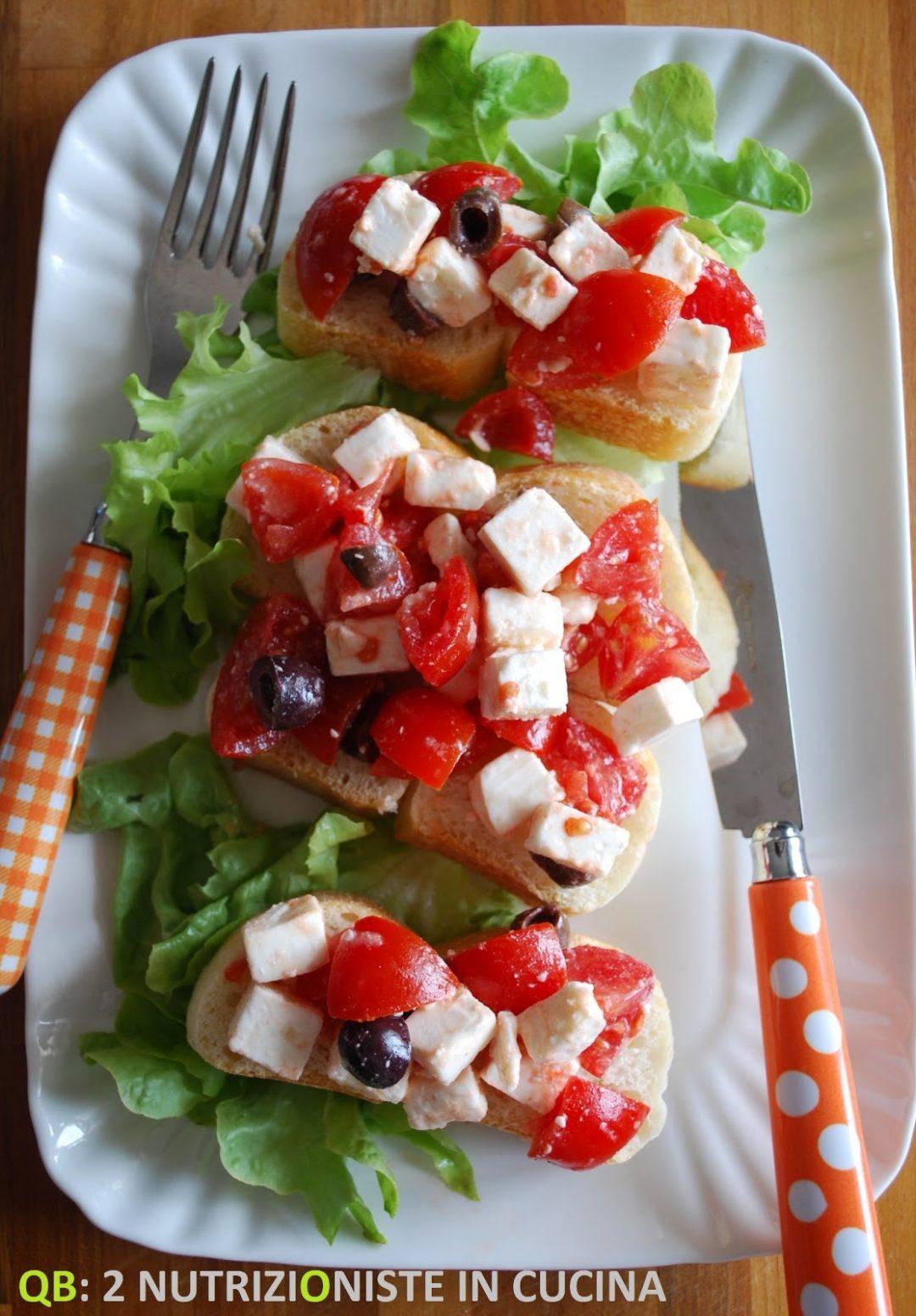 Open sandwich alla greca