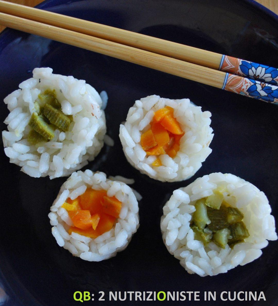 Finto sushi per bimbi