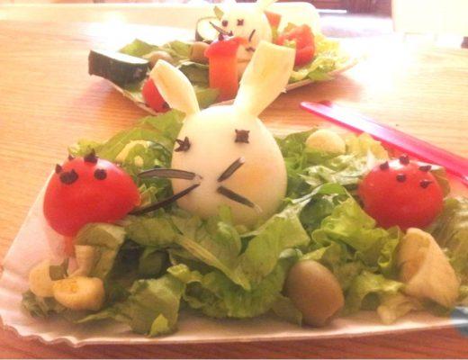 Un'insalatina felice