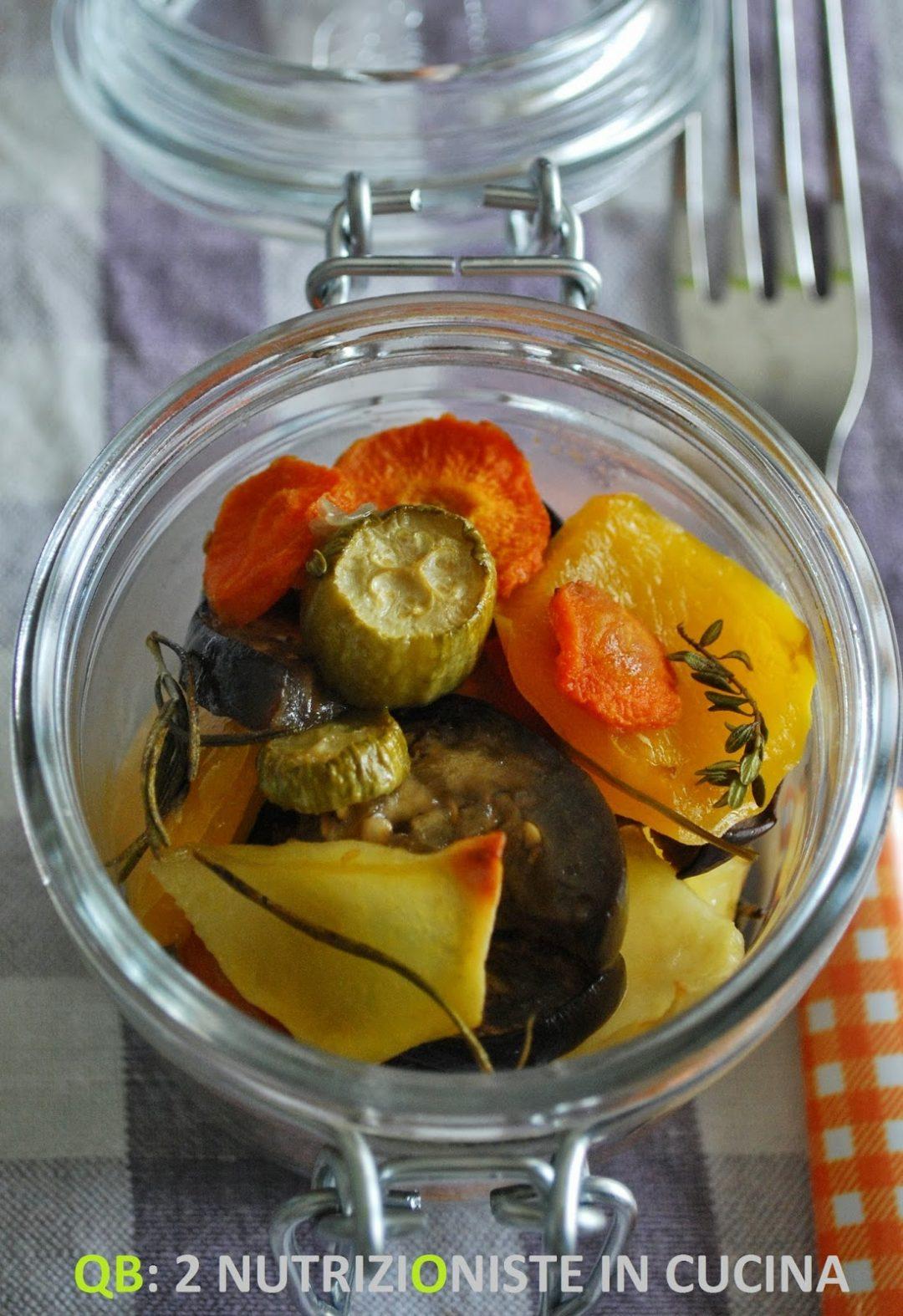 Ratatouille aromatica al forno