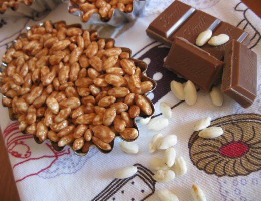 barretta di cereali e cioccolato homemade