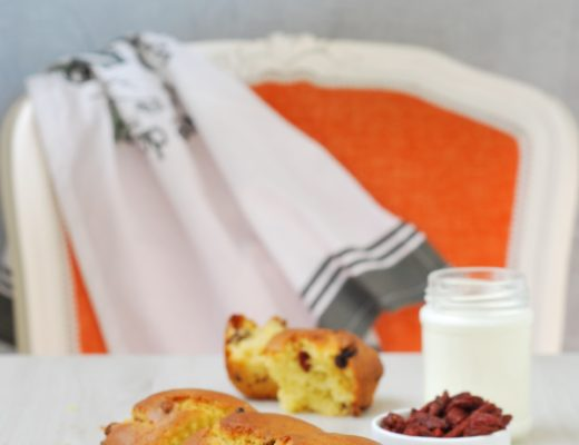 plumcake bacche di goji e yogurt