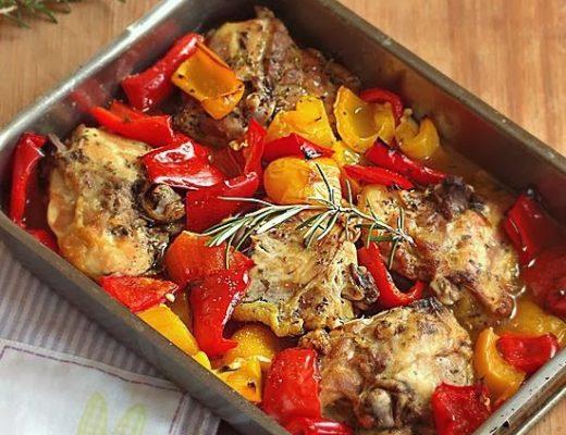 pollo saporito ai peperoni