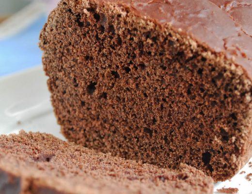 Pane dolce al cacao senza latte e senza uova