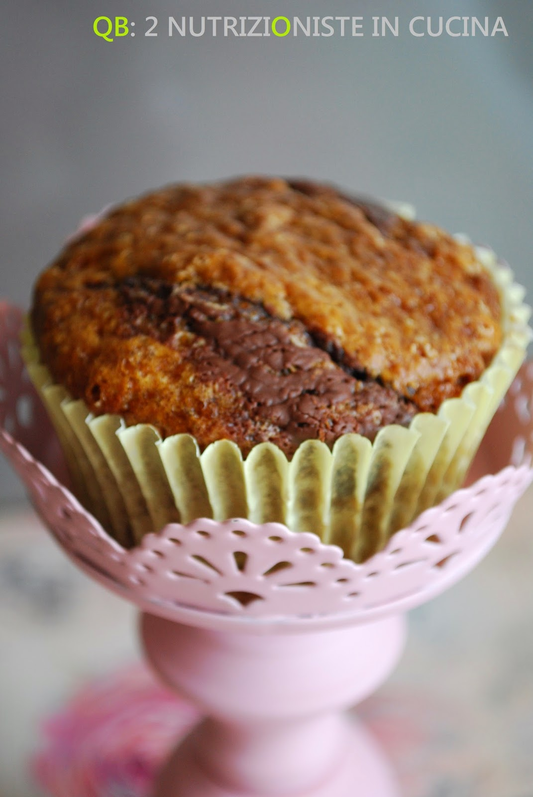 Muffins marmorizzati al caffè