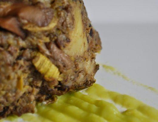 Sformatini di funghi, patate e zucchine