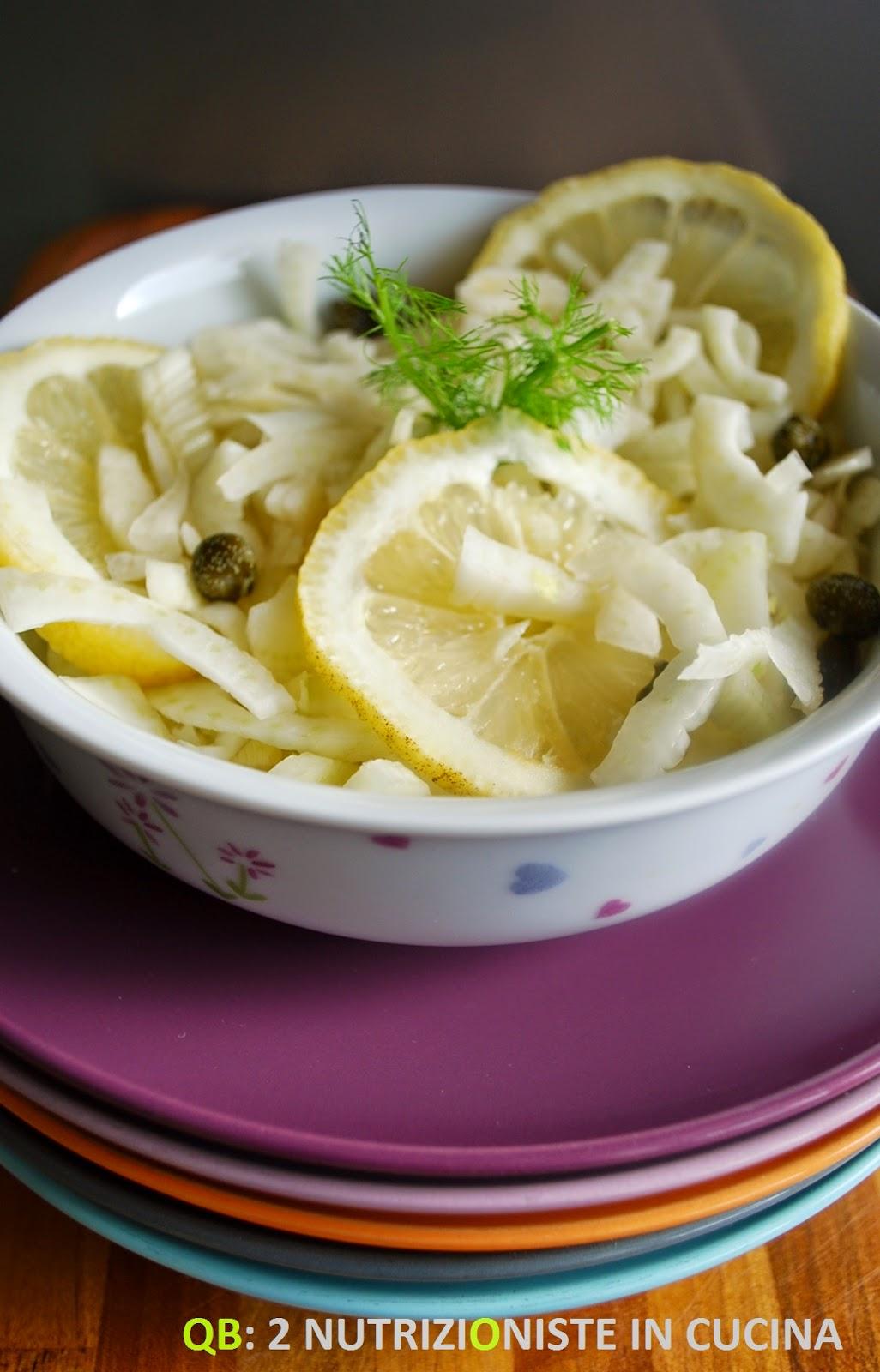 Finocchi e limone