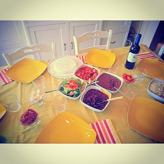 Cena messicana....light!