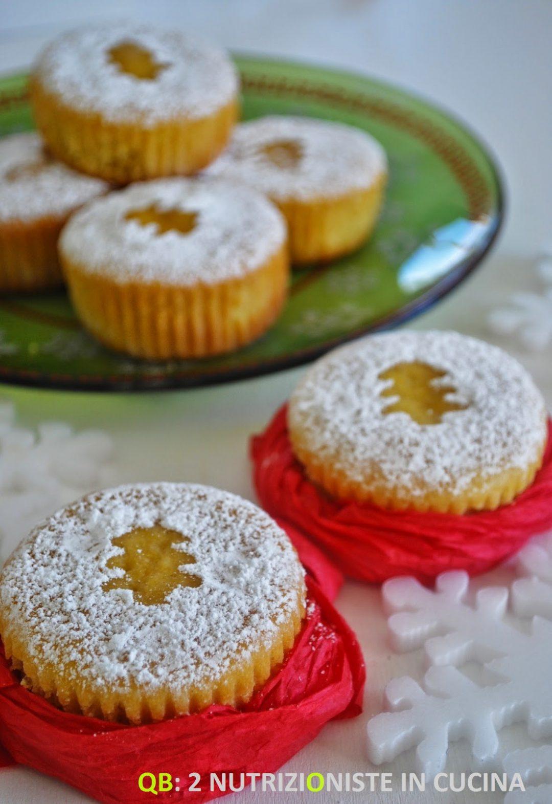 Mini orange Christmas cake