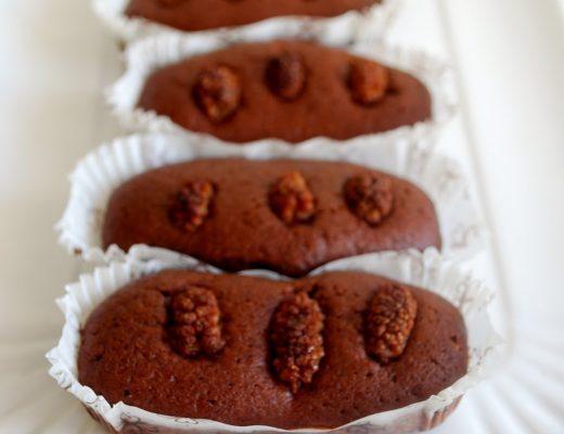 Plumcake al cacao con more di gelso