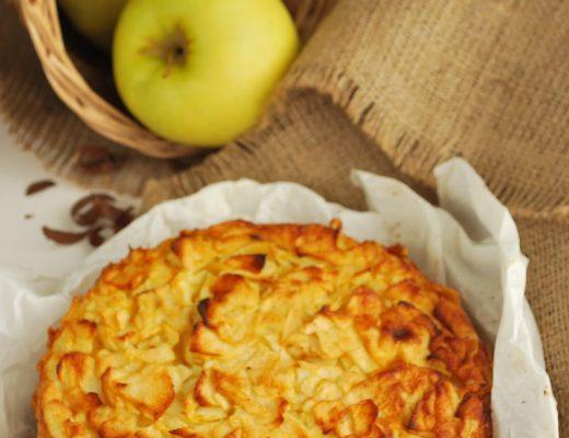 Torta di trucioli di mele senza glutine