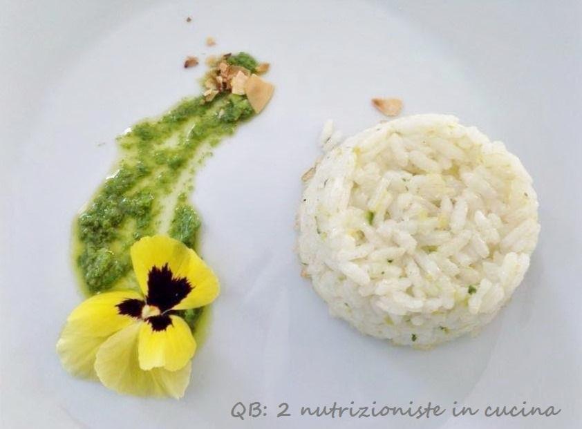 riso con zucchine