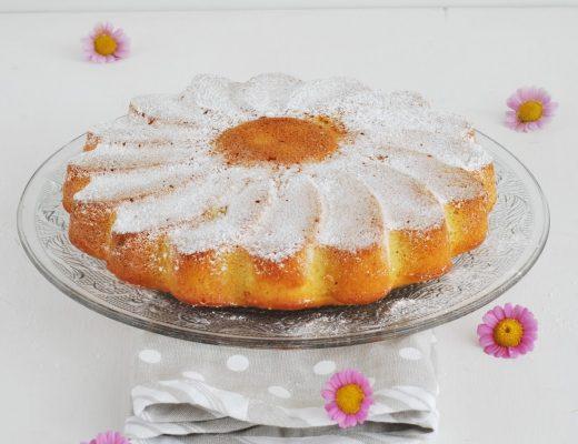 torta di ananas frullato