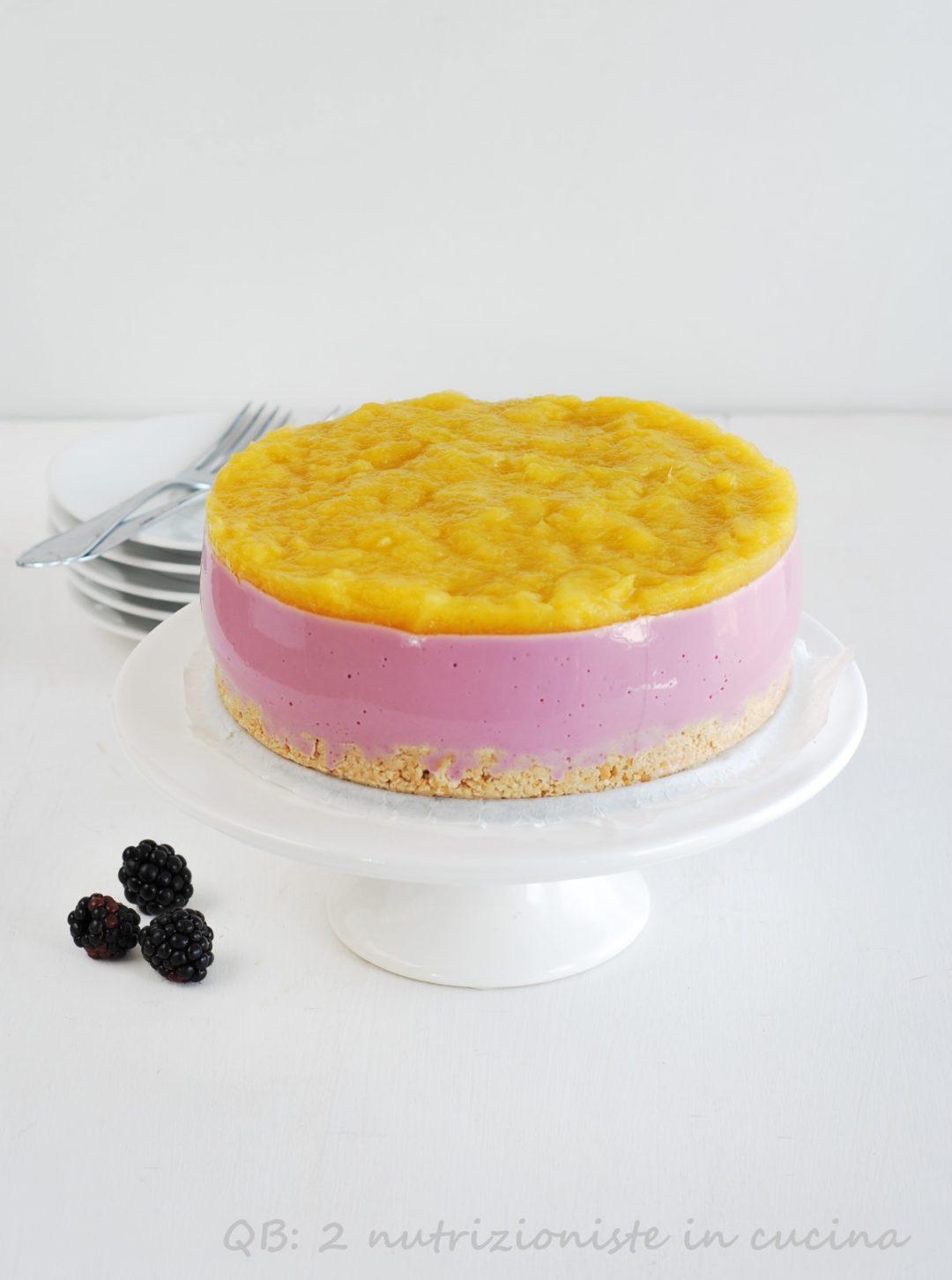 cheesecake light more e mango