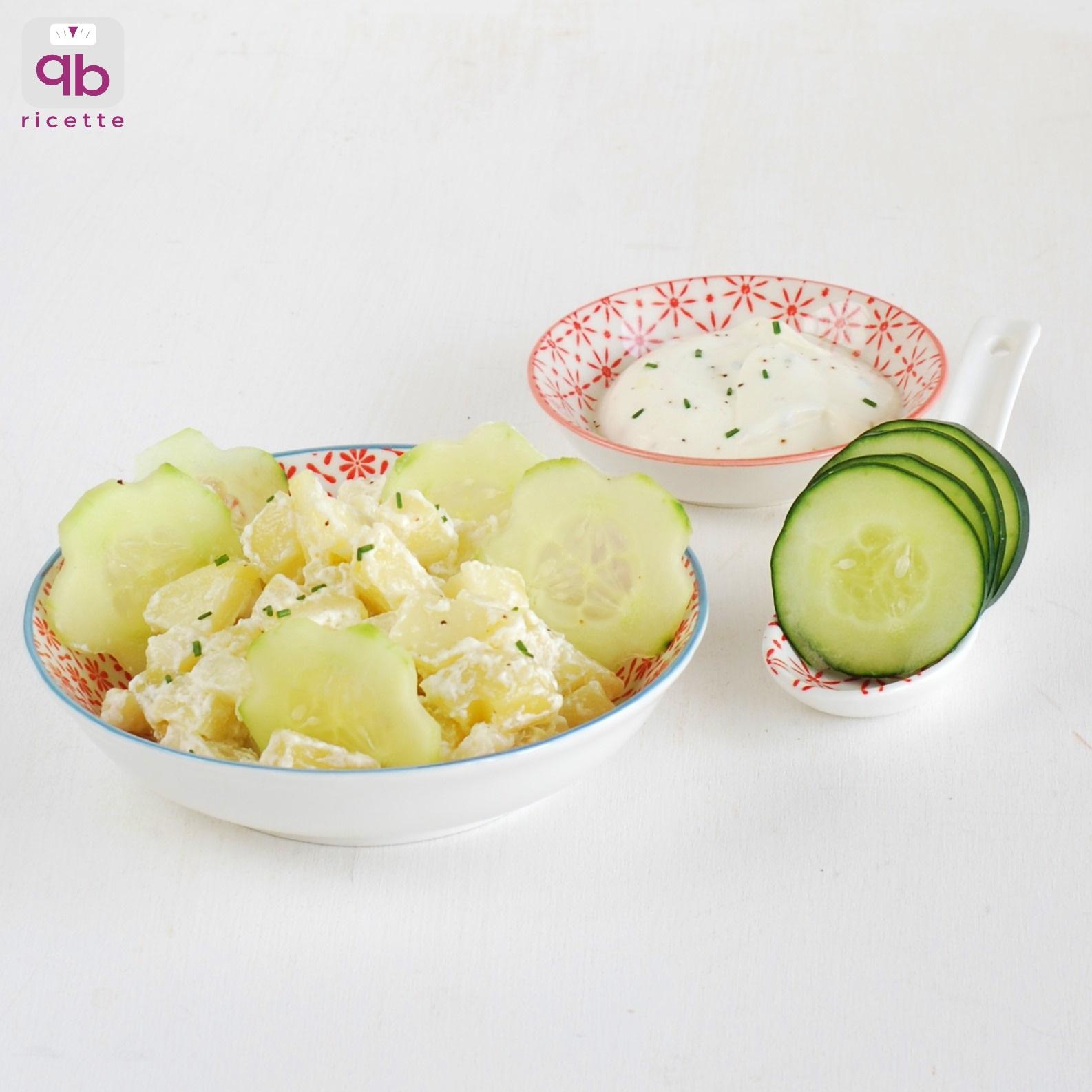 insalata patate e cetrioli