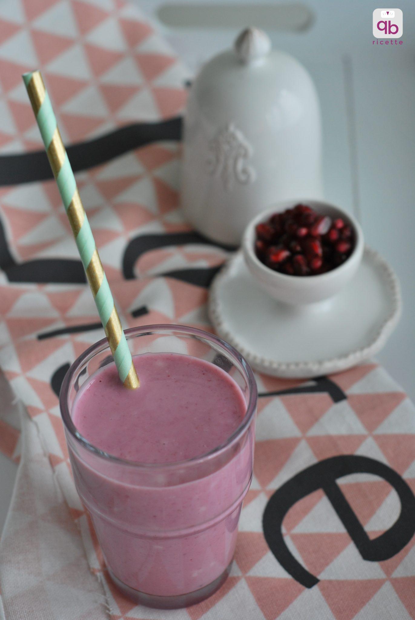 smoothie-melagrana-e-yogurt