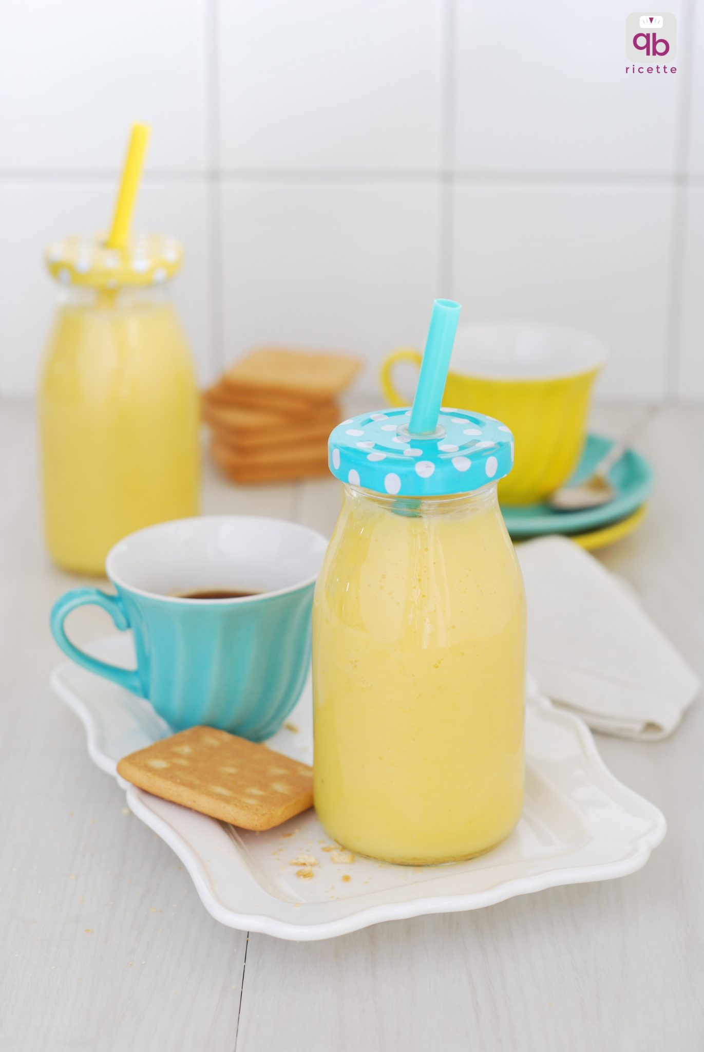 smoothie zenzero ananas