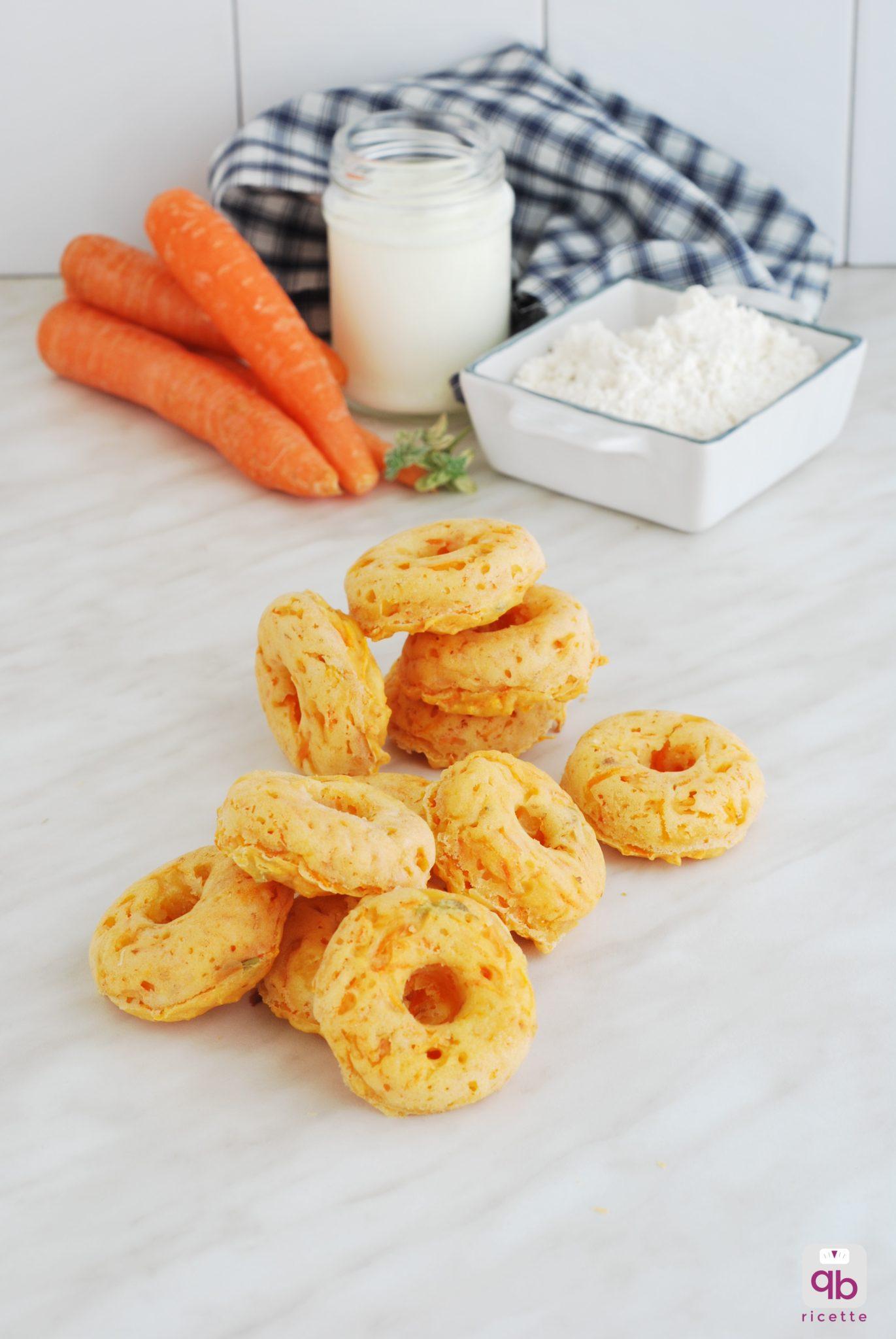 ciambelline rustiche carote