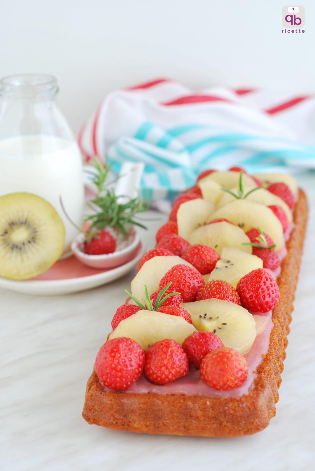 torta fragole kiwi gold