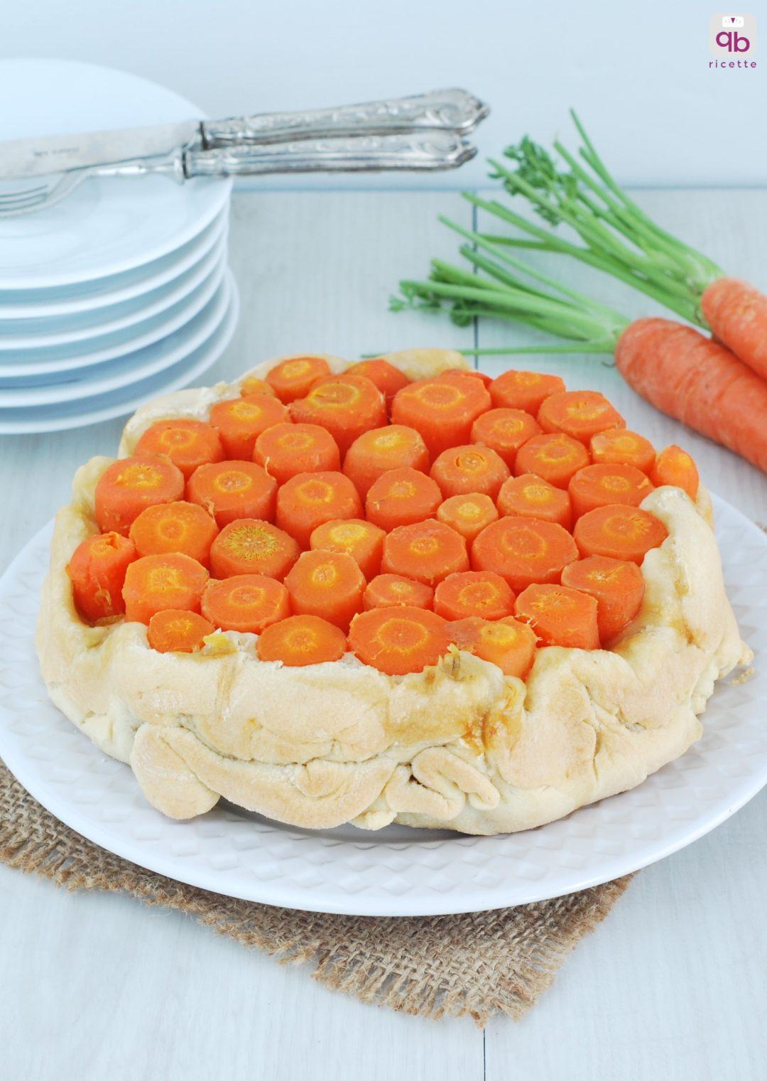 torta salata carote