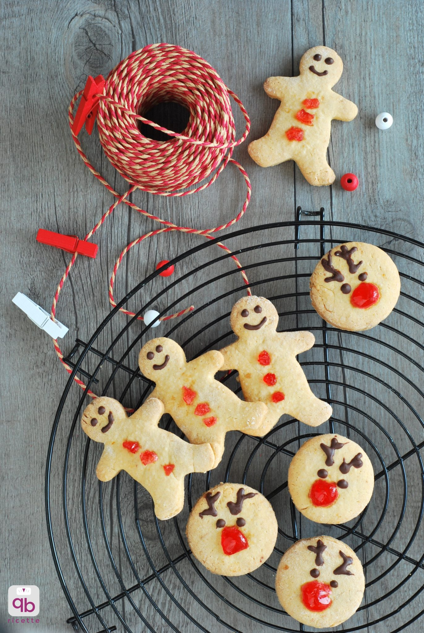 biscotti di Natale agli agrumi e cannella