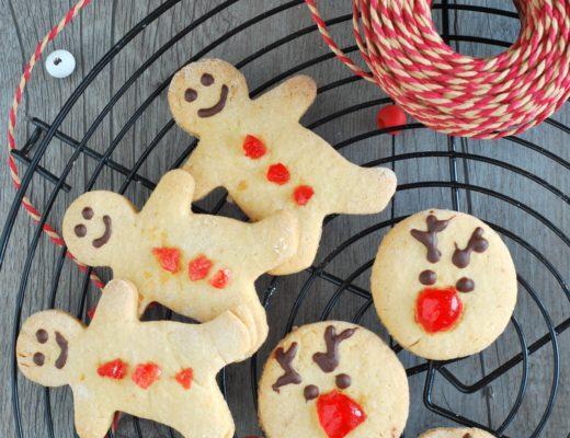 biscotti di Natale alla cannella e agli agrumi