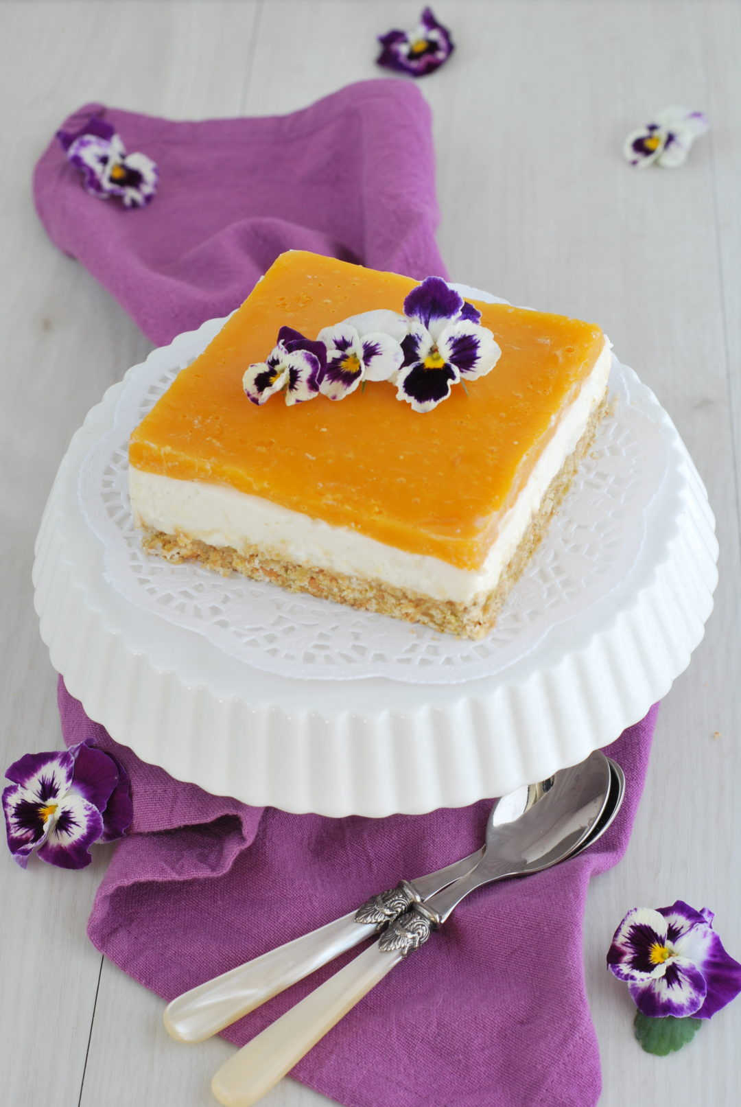 cheesecake mango light