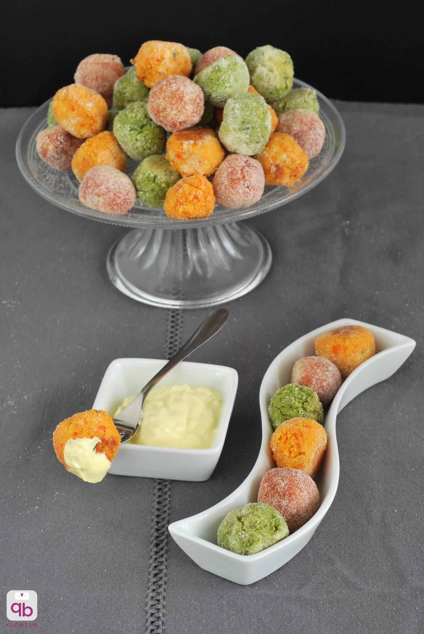 falafel piselli, barbabietola e peperoni