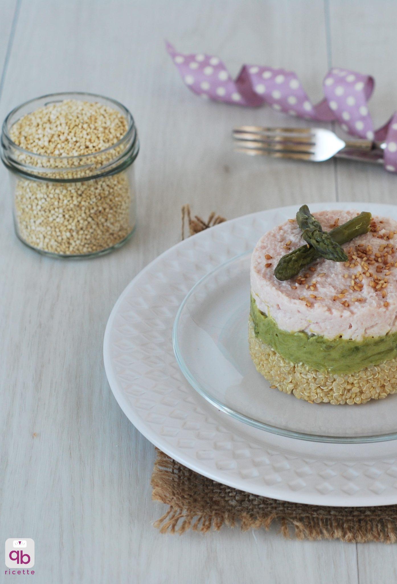 cheesecake con asparagi