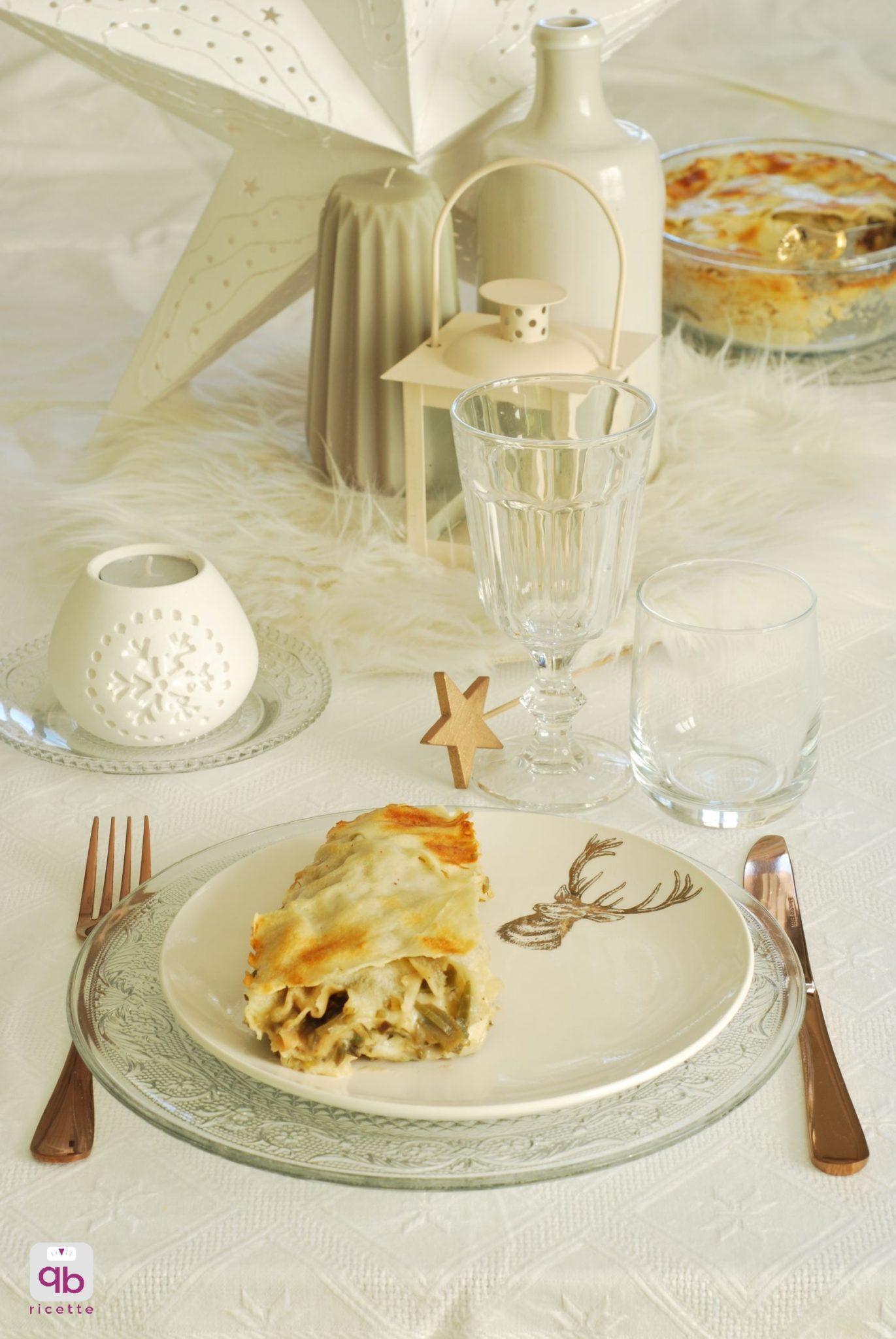 lasagne light con carciofi