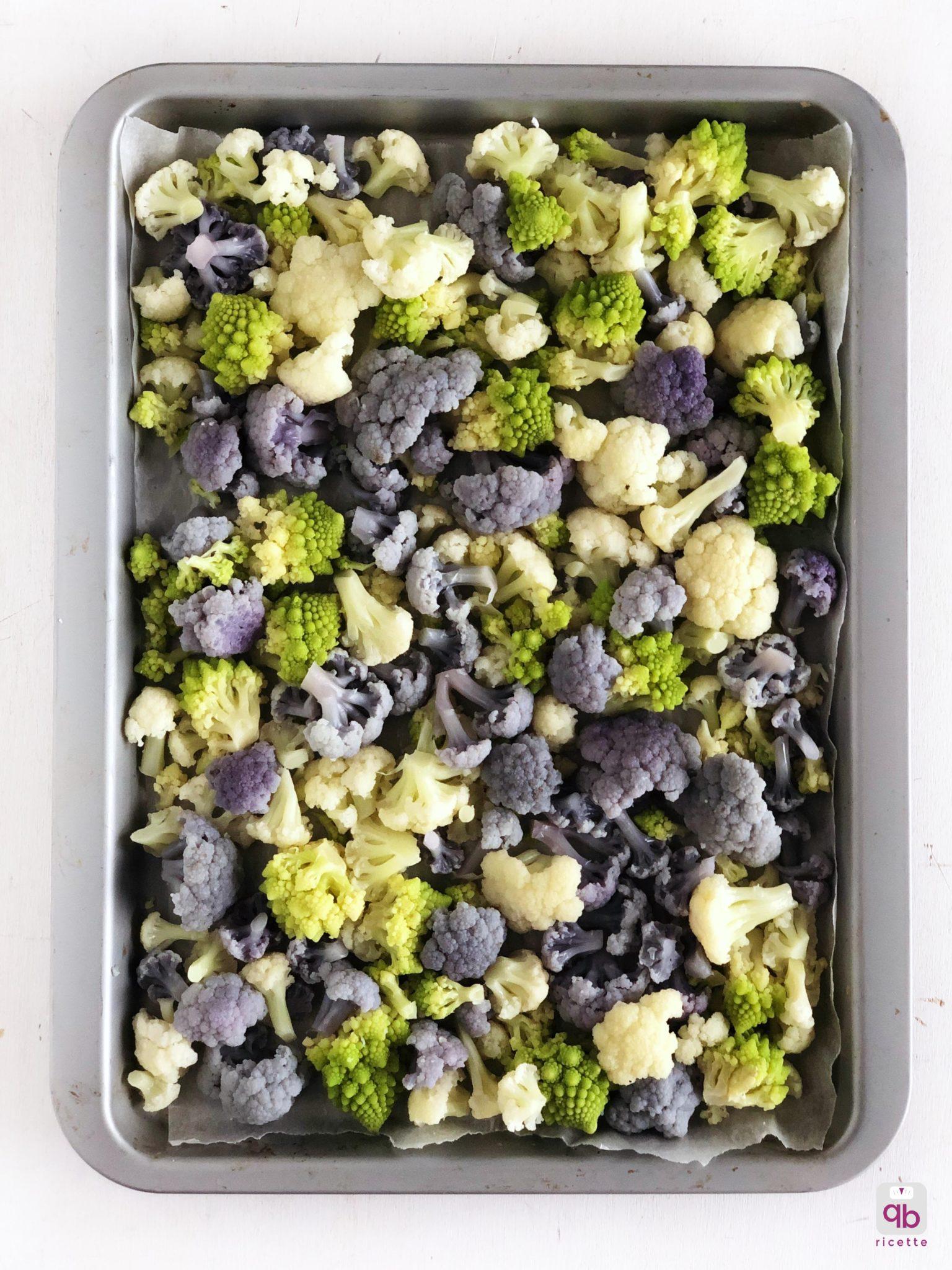 cavoli e broccoli al forno