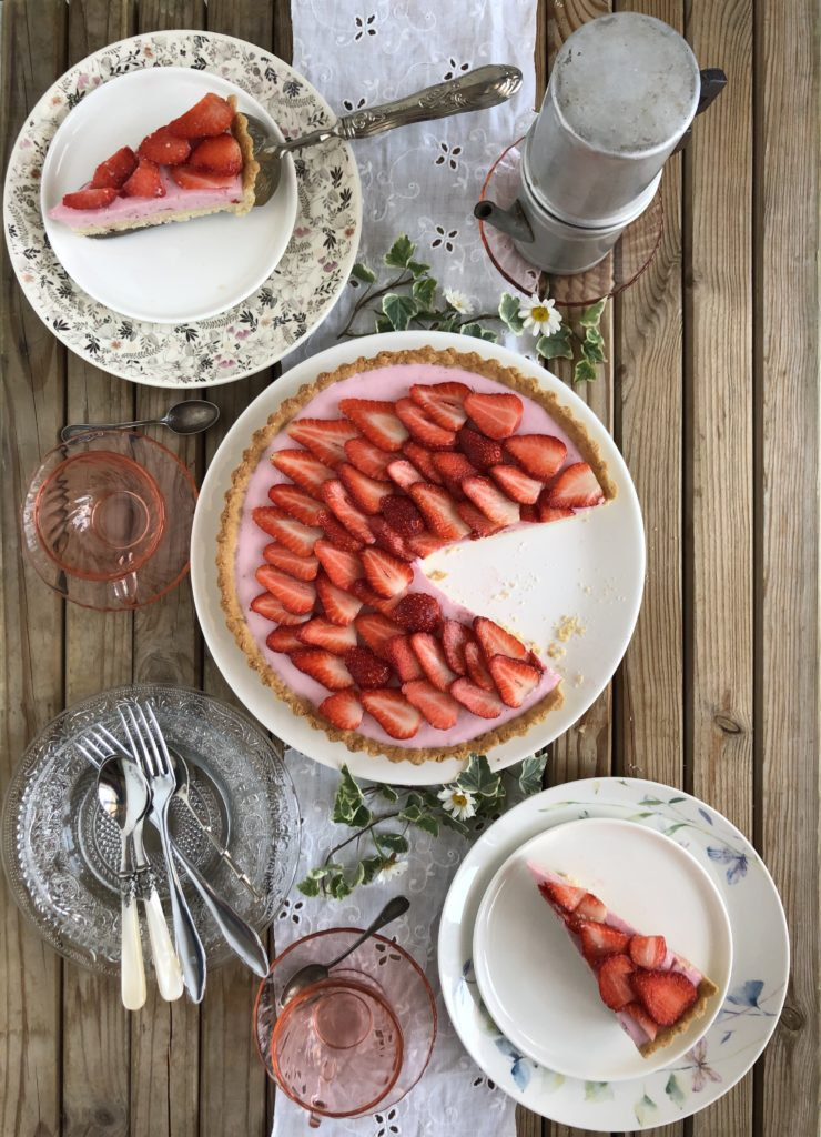 torta di fragola light