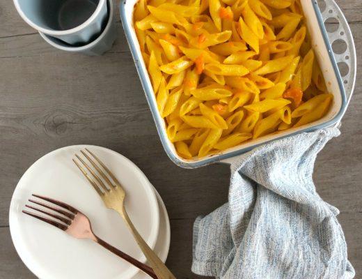 pasta al forno alla zucca