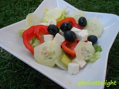 insalata greca (versione light)