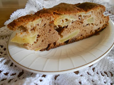 torta di farina di castagne e mele gluten free
