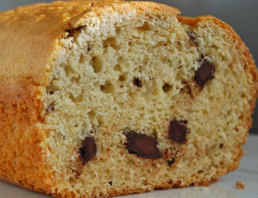 Plumcake ricotta & cioccolato
