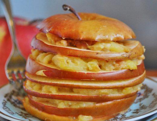 Millefoglie di mele al forno